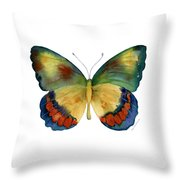 67 Bagoe Butterfly Throw Pillow by Amy Kirkpatrick