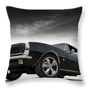 '67 Camaro Rs Throw Pillow