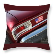 67 Malibu Chevelle Tail Light-0060 Throw Pillow