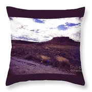 670 Sl Tuzigoot  2 Throw Pillow