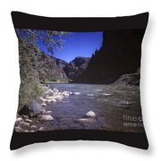 671 Sl Big River Throw Pillow