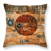 678 Throw Pillow