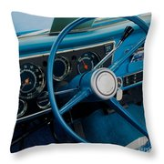 68 Chevy Truck Dash Throw Pillow