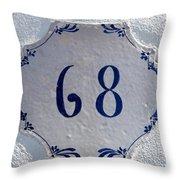 68 Throw Pillow