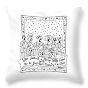 Have Yourself A Merry Little Xmas Throw Pillow
