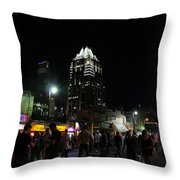 6th Throw Pillow by Trish Mistric