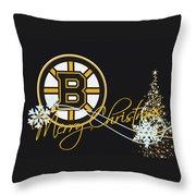 Boston Bruins Throw Pillow