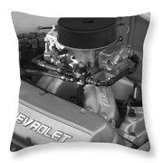 Chevrolet Engine Throw Pillow