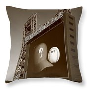 Citizens Bank Park - Philadelphia Phillies Throw Pillow