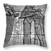 Cleopatra Vii (69-30 B.c.) Throw Pillow