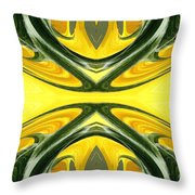 Color Fashion Abstract Throw Pillow