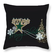 Dallas Stars Throw Pillow