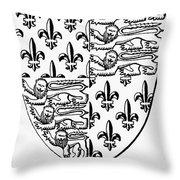 Edward IIi (1312-1377) Throw Pillow