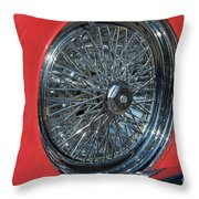Ford Thunderbird Throw Pillow