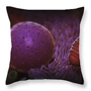 Inner Workings Of A Human Cell Throw Pillow