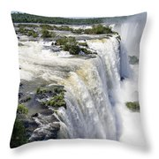 Iquazu Falls - South America Throw Pillow