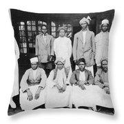 Isak Dinesen (1885-1962) Throw Pillow