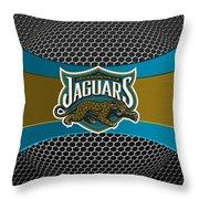 Jacksonville Jaguars Throw Pillow