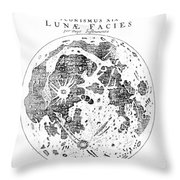 Johannes Kepler (1571-1630) Throw Pillow