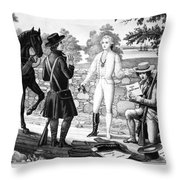 John Andre (1751-1780) Throw Pillow