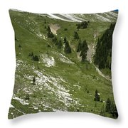 Kindersley Pass Throw Pillow