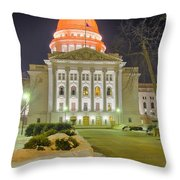 Madison Capitol Throw Pillow by Steven Ralser