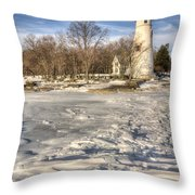 Marblehead Lighthouse Throw Pillow