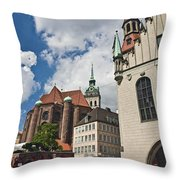 Munich Germany Throw Pillow
