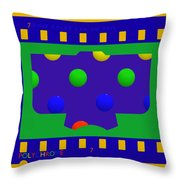 7 Only Throw Pillow