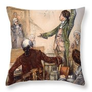 Patrick Henry (1736-1799) Throw Pillow