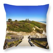 Ponte Vedra Beach Throw Pillow