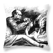 Prince Otto Von Bismarck (1815-1898) Throw Pillow