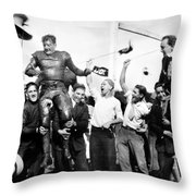 Silent Still: College Throw Pillow