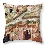 Sir Henry Unton (c1557-1596) Throw Pillow