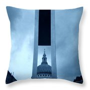 St Pauls Cathedral At London Attractions  Throw Pillow
