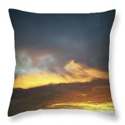 Sunset Sky Throw Pillow