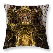 The Monastery Of San Francisco -  Lima Peru Throw Pillow