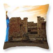 The Palaestra - Apollo Sanctuary Throw Pillow