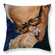 Toots Thielemans Throw Pillow