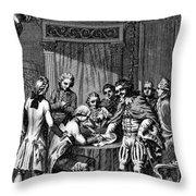 Treaty Of Paris, 1783 Throw Pillow