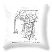 Why, Giambattista Tiepolo, You Old So-and-so! Throw Pillow