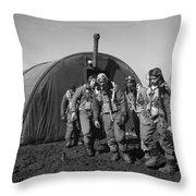 Wwii: Tuskegee Airmen, 1945 Throw Pillow