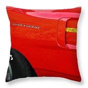 '70 Road Runner Throw Pillow