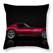 '71 Red Throw Pillow