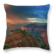 749220321 North Rim Grand Canyon Arizona Throw Pillow