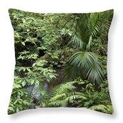 Jungle 5 Throw Pillow