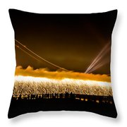 75th Anniversary Of The Golden Gate Bridge  Throw Pillow