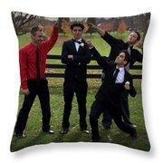 76 Throw Pillow