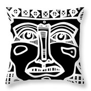 Listing Under Construction Throw Pillow