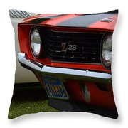 60's Camaro Throw Pillow
